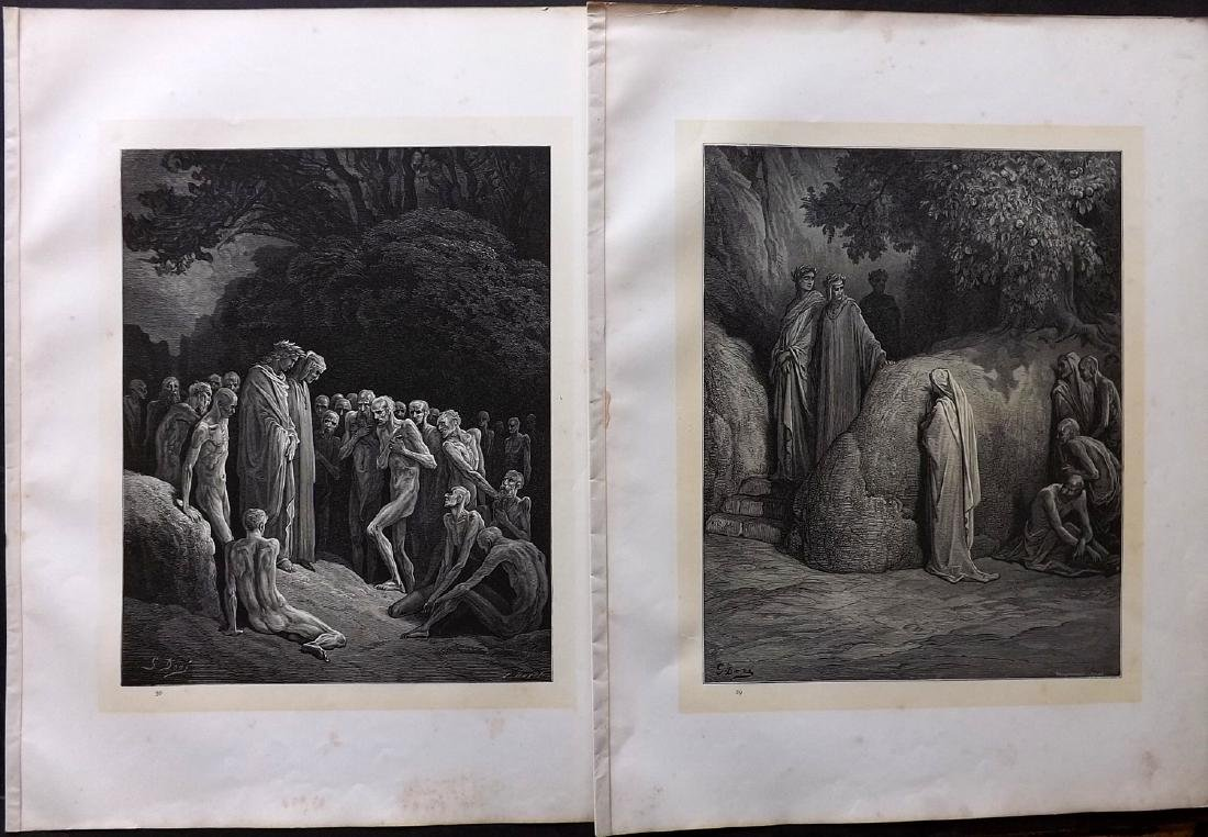 Dore, Gustave C1880 Lot of 49 Large Prints - 2