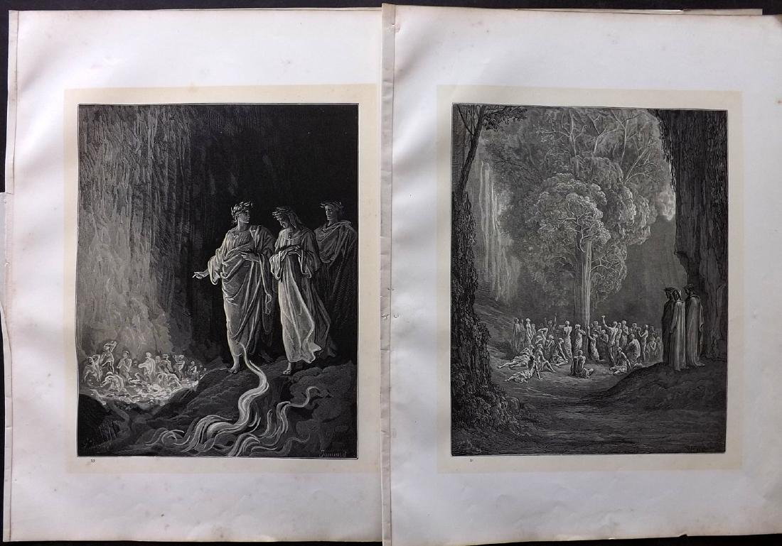 Dore, Gustave C1880 Lot of 49 Large Prints - 4