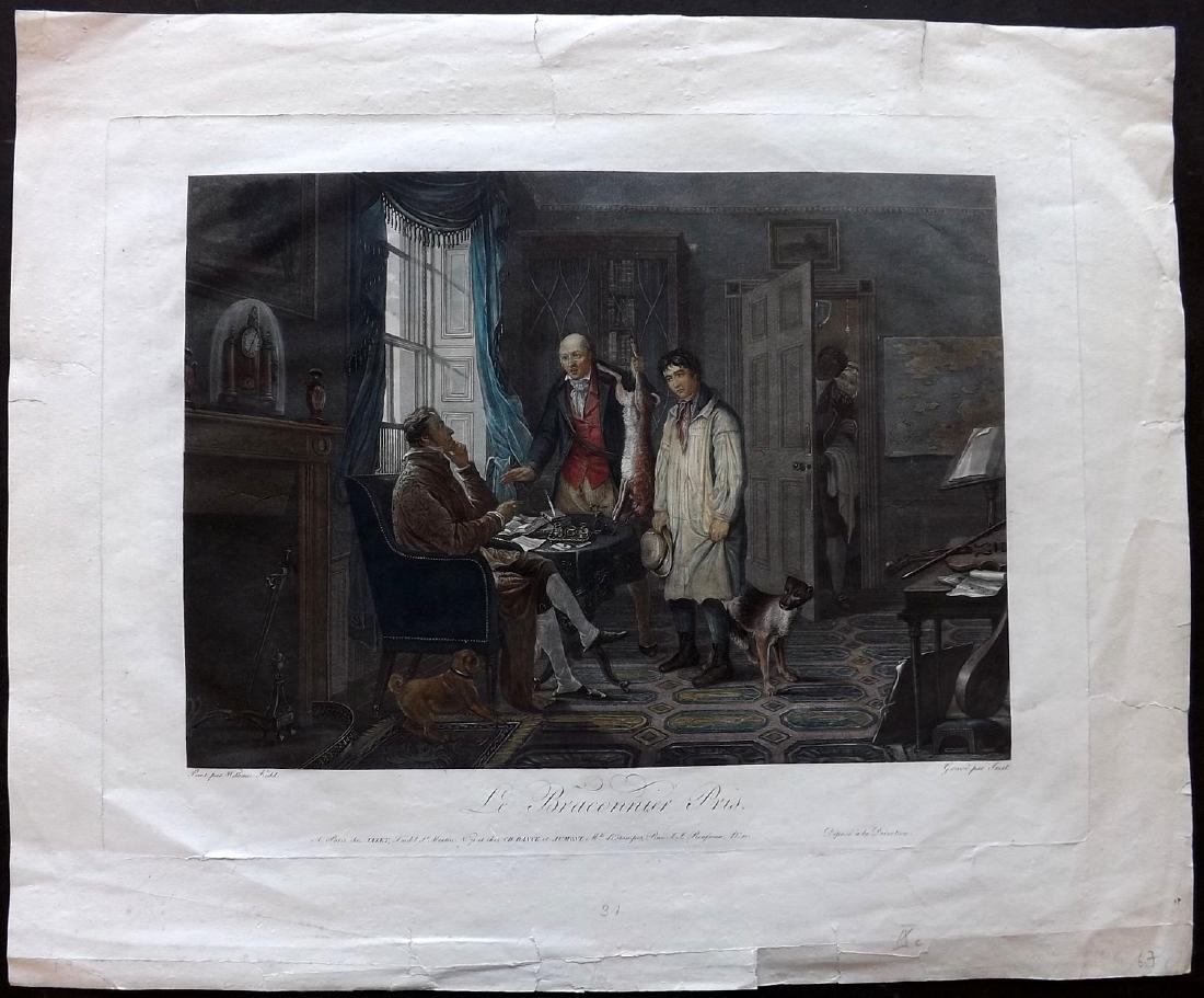 Jazet, Jean after William Kidd C1819 Folio HC Print