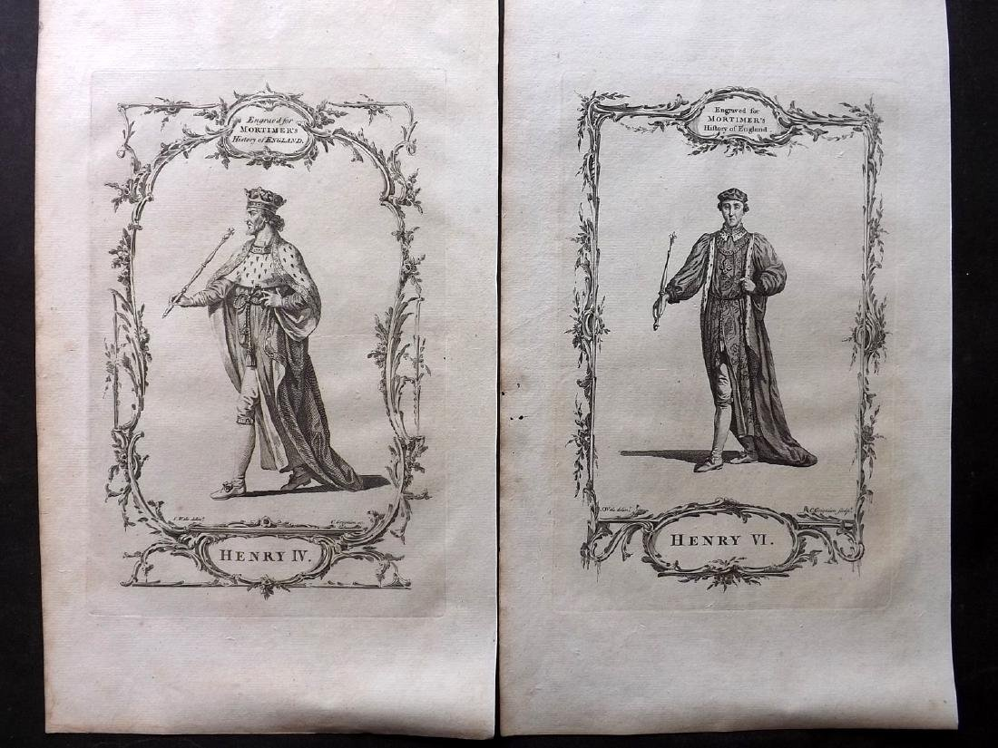 Portraits 1766 Lot of 31 British Royalty, Folio by - 2