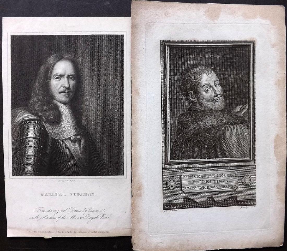 Portraits 18th-19th Century Lot of 46. European - 2