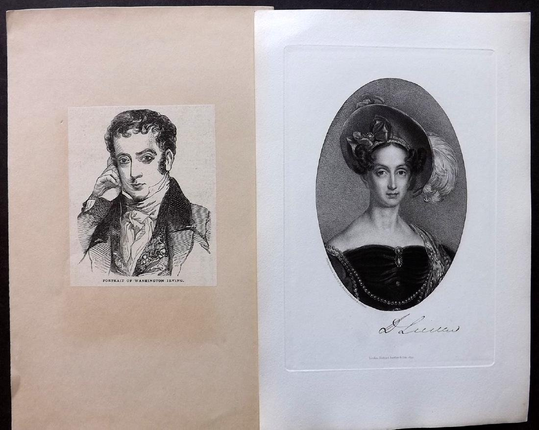 Portraits 18th-19th Century Lot of 46. European - 3