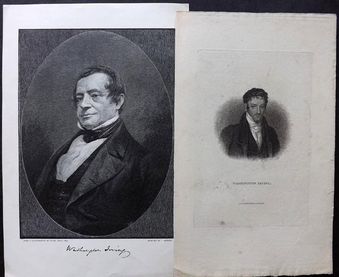 Portraits 18th-19th Century Lot of 46. European - 4