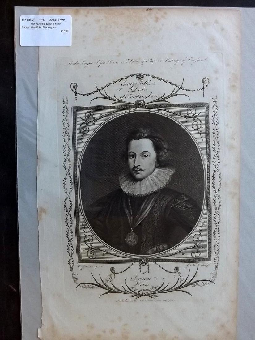 Portraits 18th-19th Century Lot of 90, Mounted - 7