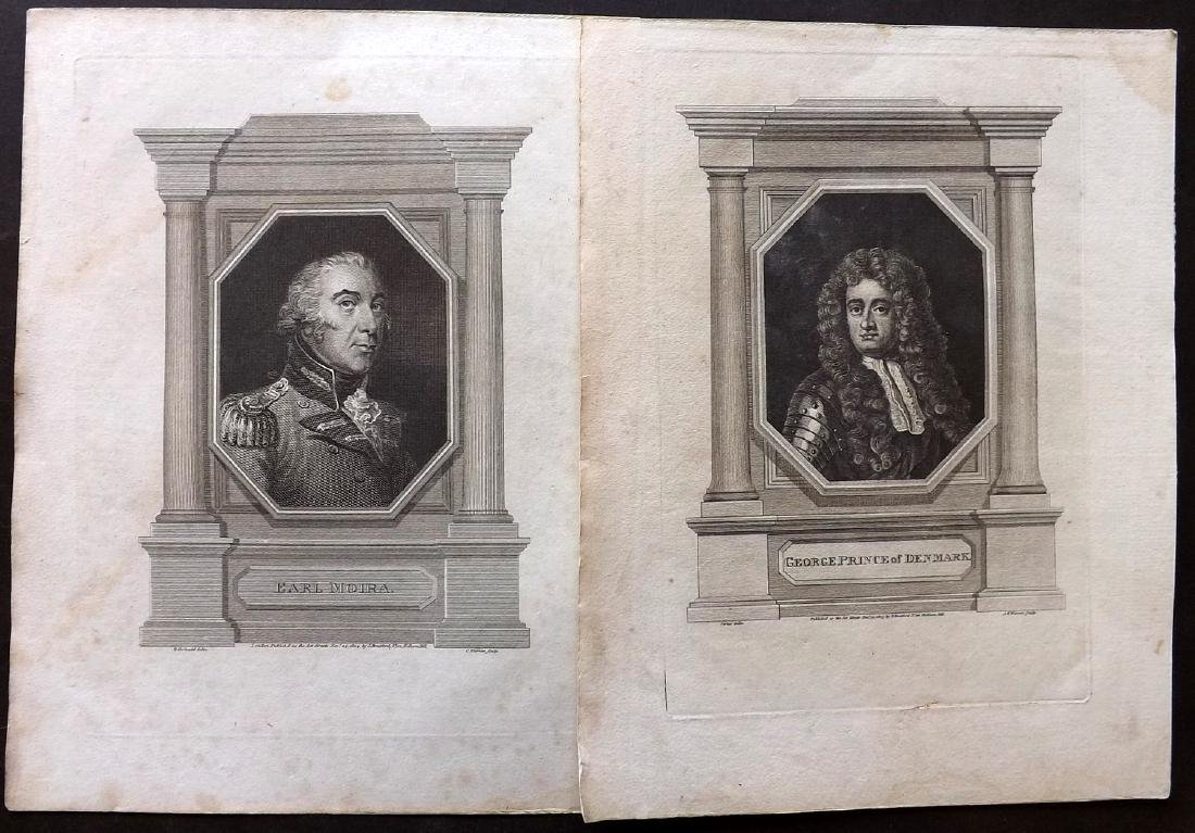 Portraits 18th-19th Lot of 68 British, European, Indian - 7