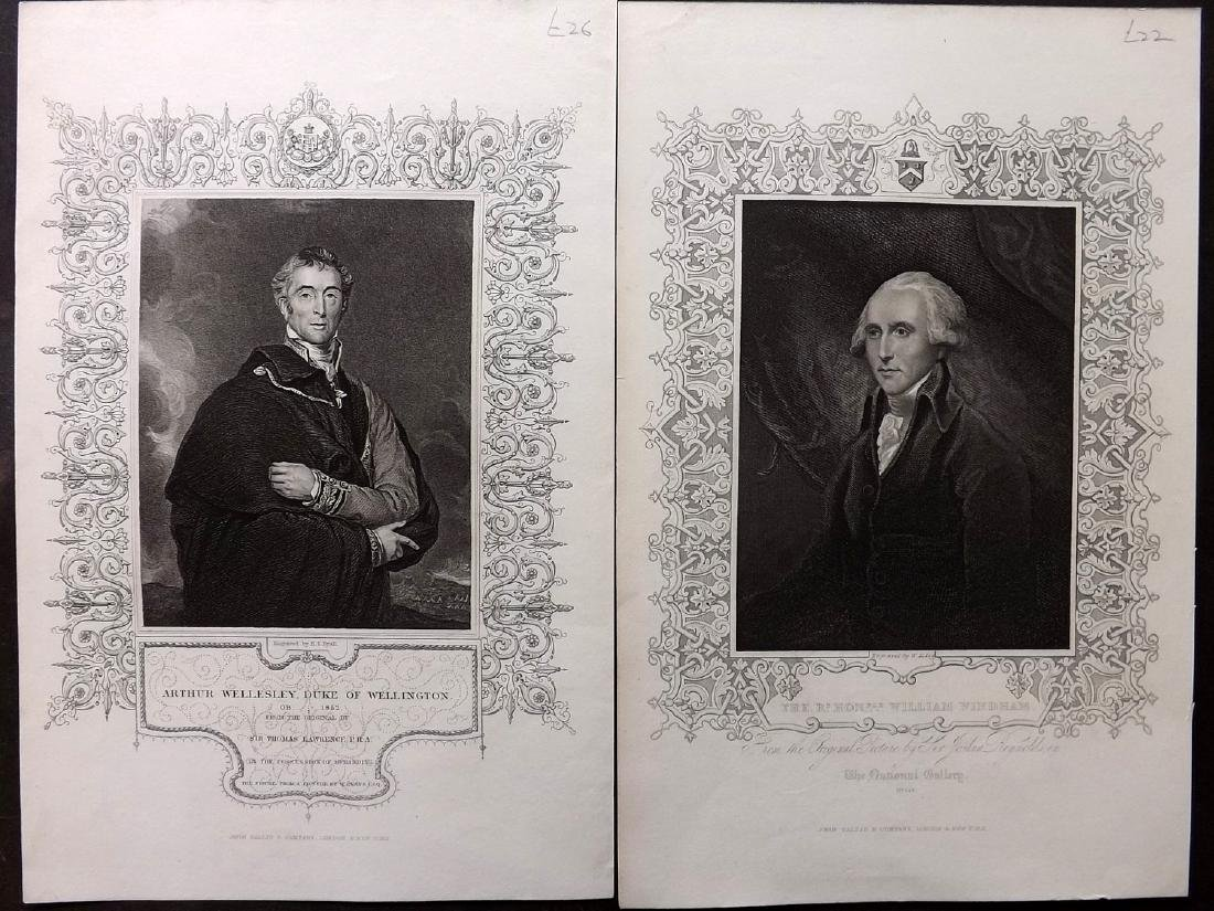 Portraits C1850 Lot 50 British from History of England - 3