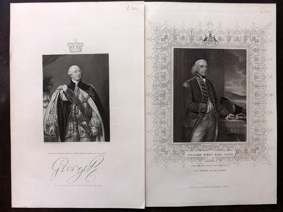 Portraits C1850 Lot 50 British from History of England - 4