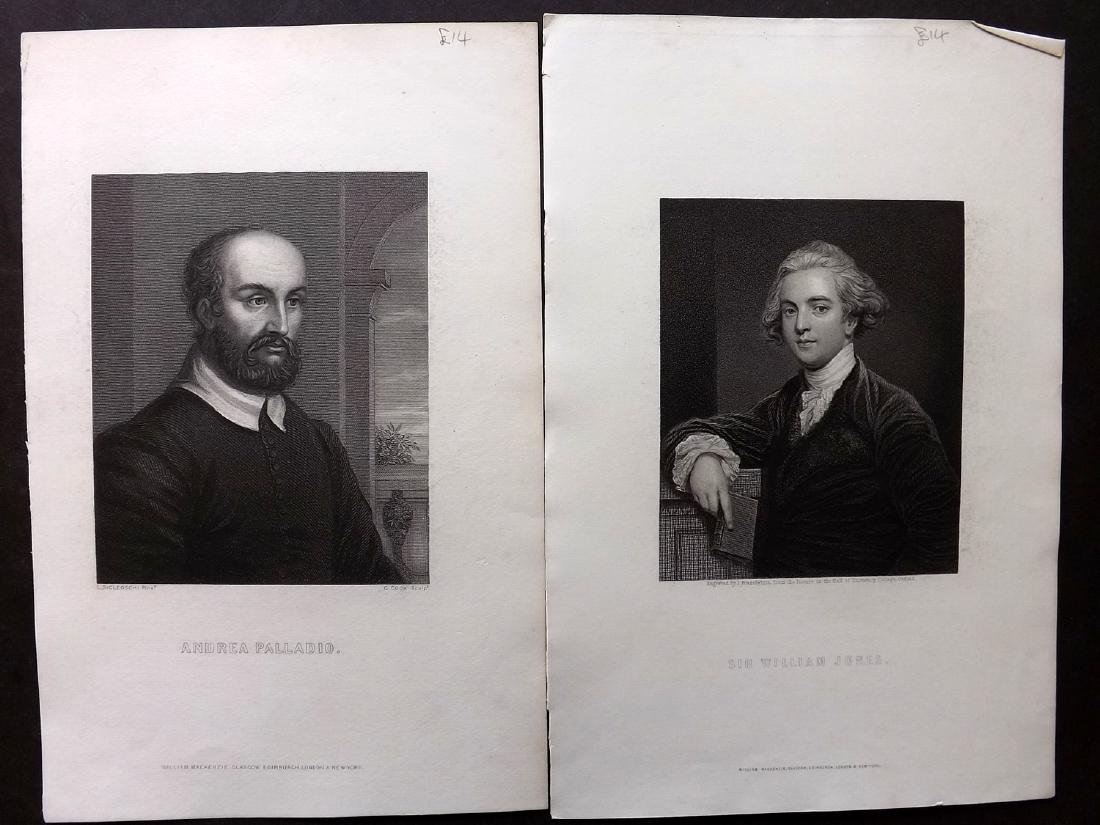 Portraits C1860 Lot of 68 from The Imperial Dictionary - 2