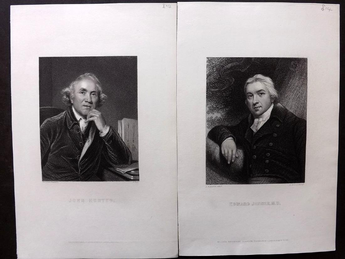 Portraits C1860 Lot of 68 from The Imperial Dictionary - 3