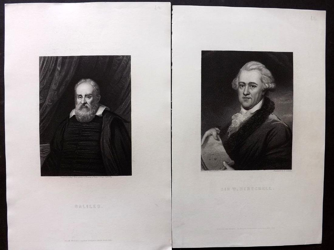 Portraits C1860 Lot of 68 from The Imperial Dictionary - 4