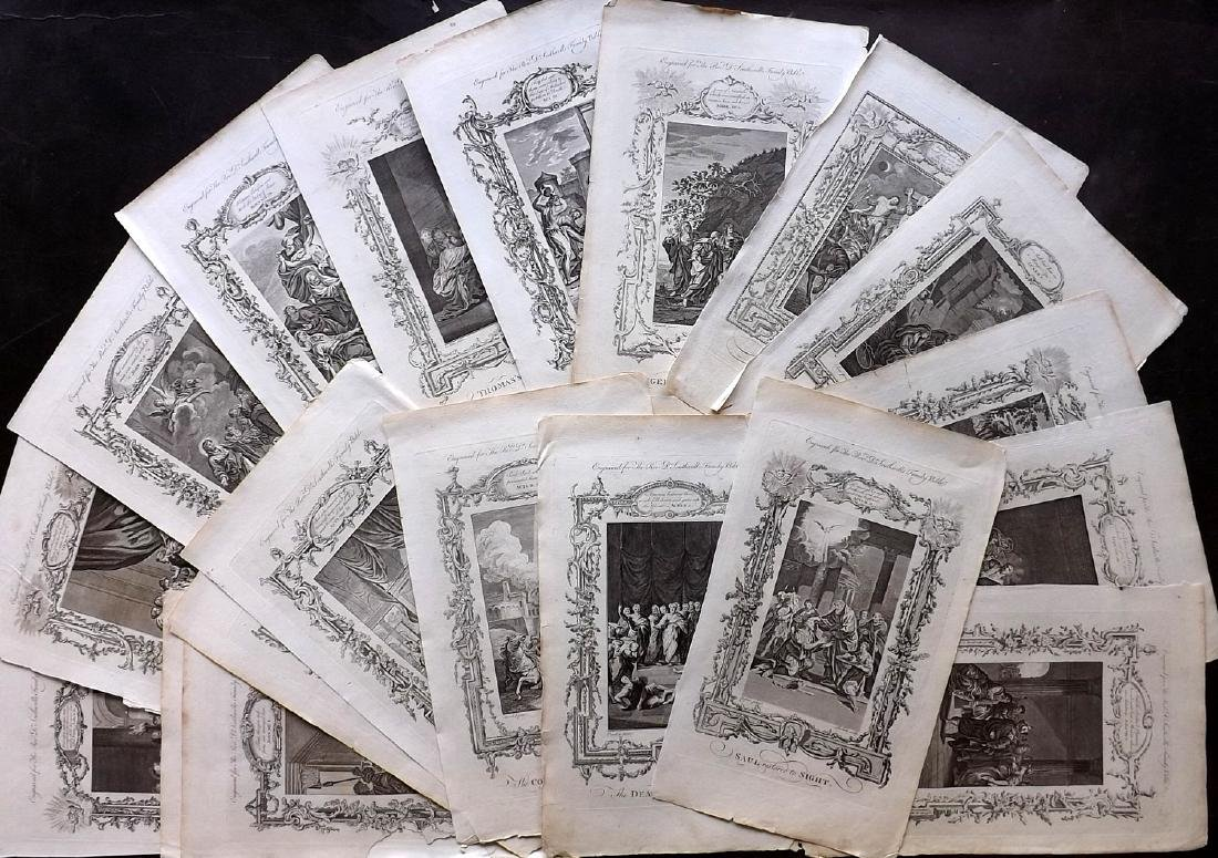 Southwell, Henry 1774 Lot of 20 Religious Copper Plates
