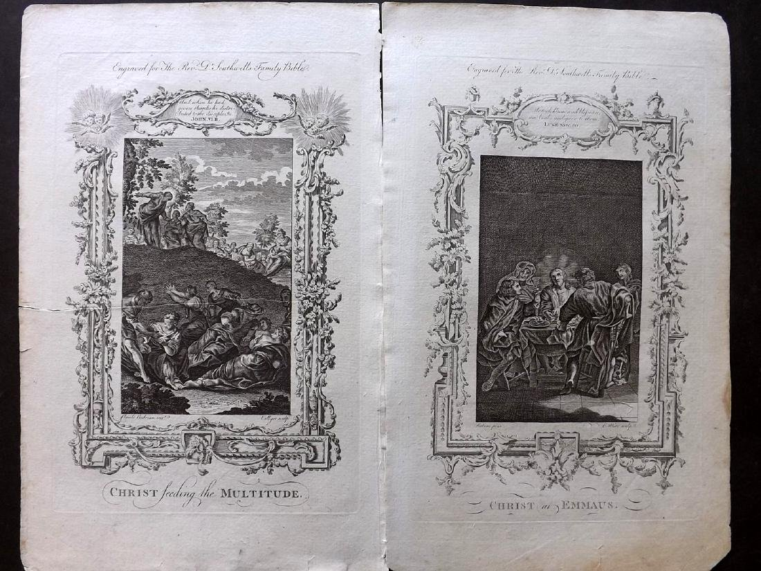 Southwell, Henry 1774 Lot of 20 Religious Copper Plates - 2