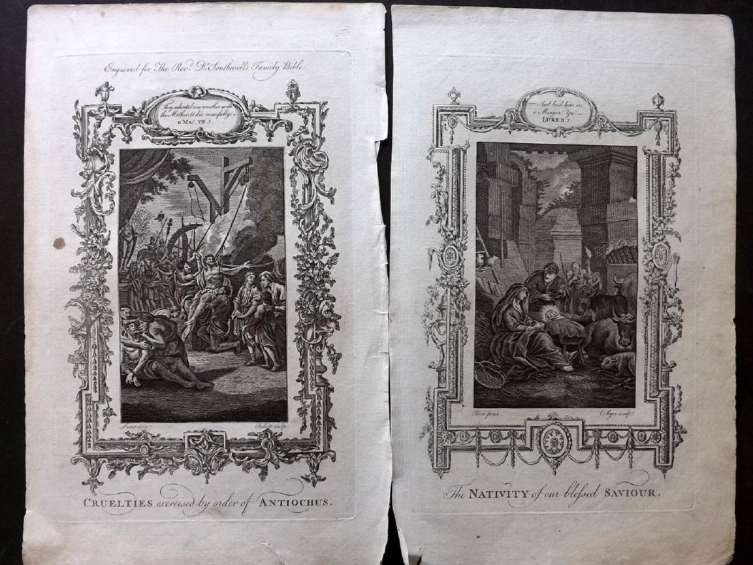 Southwell, Henry 1774 Lot of 20 Religious Copper Plates - 3