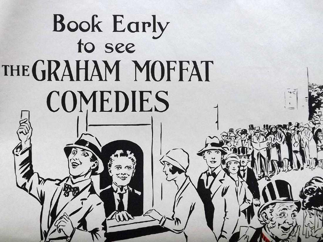 Theatre Poster C1925 Graham Moffat Comedies. Willis (2) - 2
