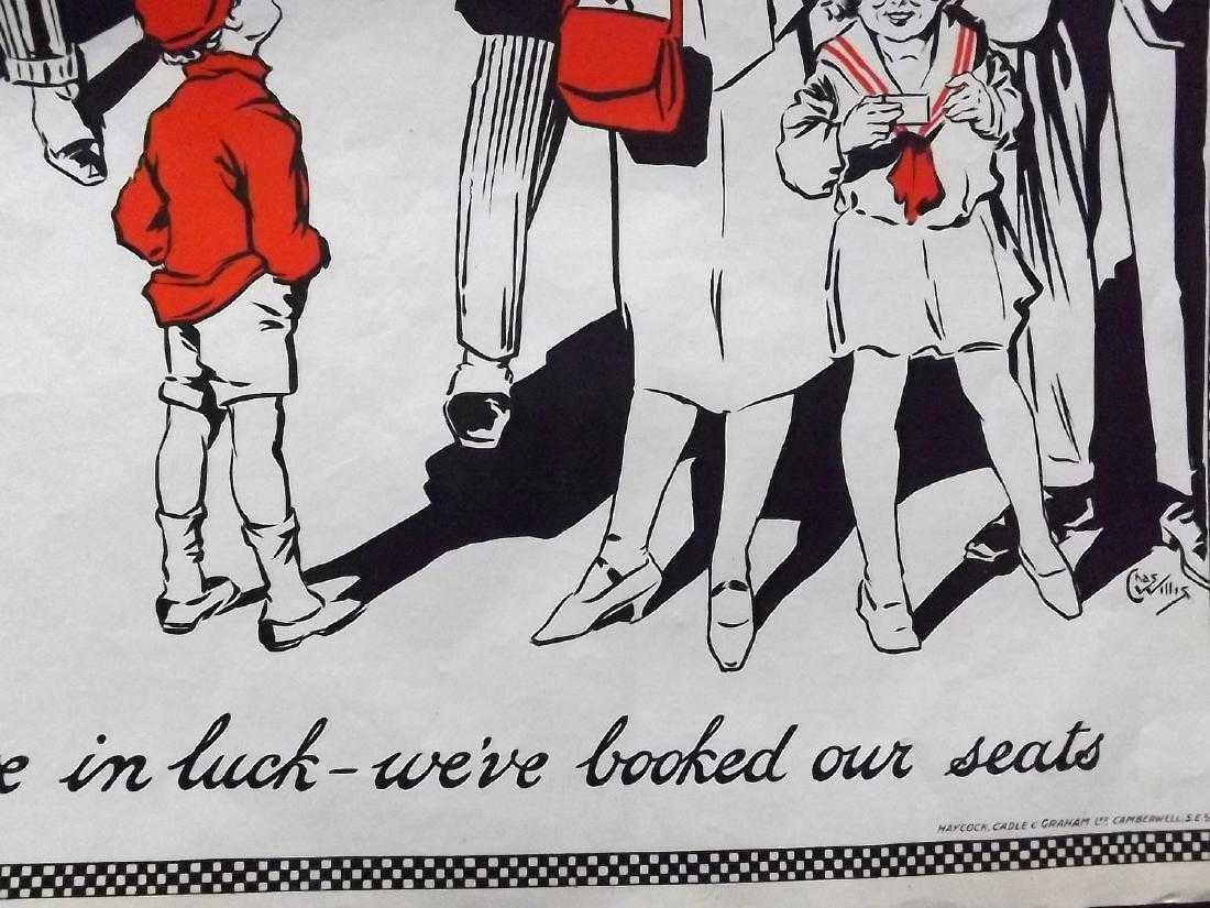 Theatre Poster C1925 Graham Moffat Comedies. Willis (2) - 3
