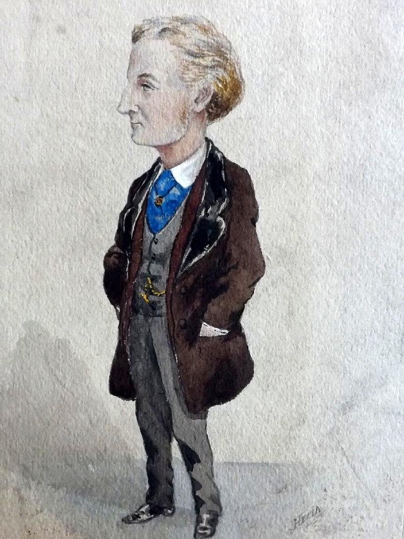 Original Art 19th Cent Watercolour. The Lad from Argyle - 2