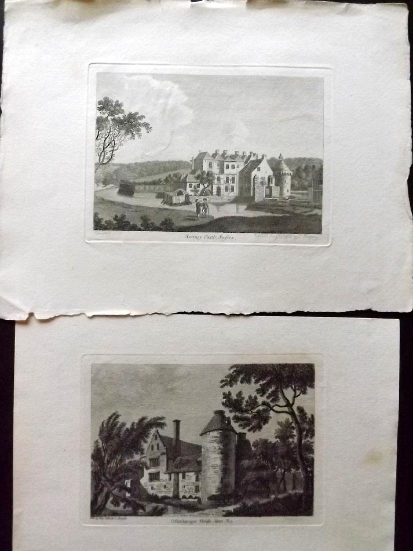 Grose, Francis - Kent 18th Cent Lot of 19 Copper Plates - 2