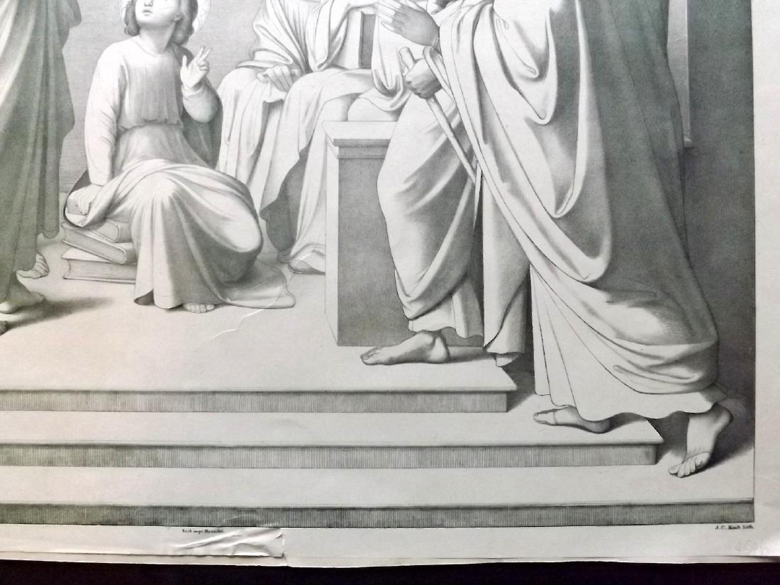 Koch. J. C after Johann Overbeck C1840 Print. Religious - 2