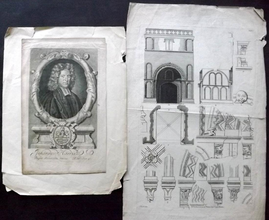 Mixed Folio Prints 18th-19th Century Lot of 30. Faults - 3