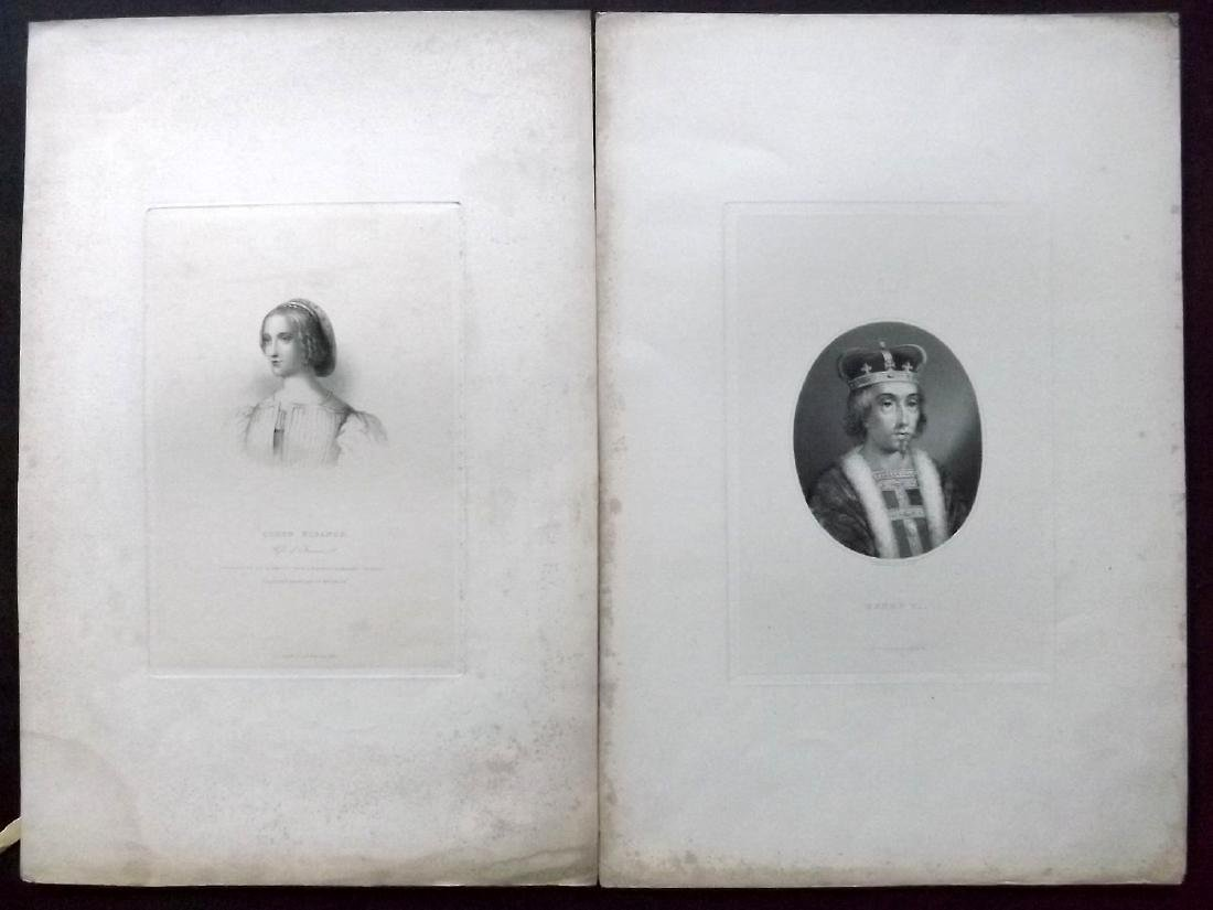 Mixed Folio Prints 18th-19th Century Lot of 30. Faults - 5