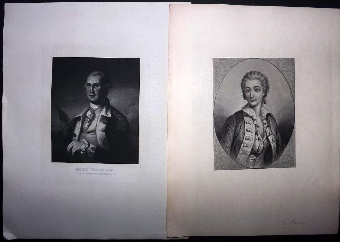 Mixed Prints 18th-19th Century Lot of 50 - 2