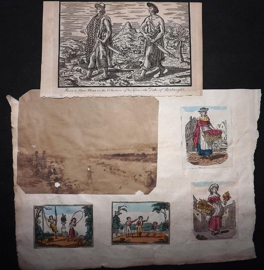 Mixed Prints 18th-19th Century Lot of 50 - 4