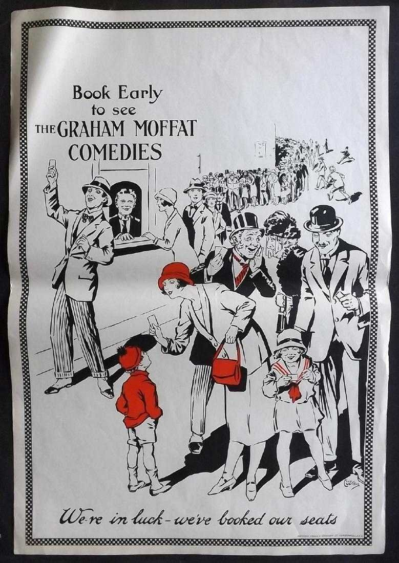 Theatre Poster C1925 Graham Moffat Comedies. Willis (2)
