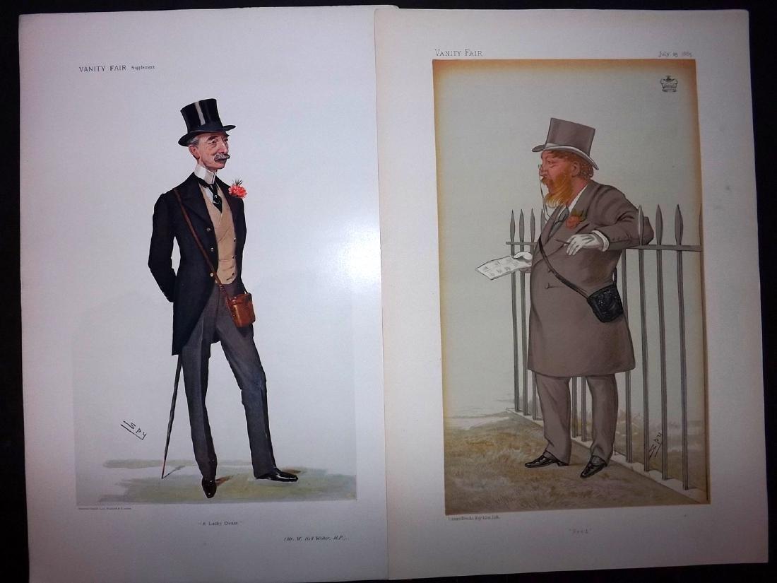 Vanity Fair Prints 1885-1906 Pair of Turf Devotees