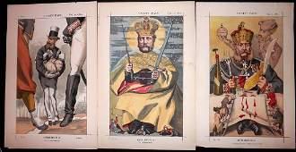 Vanity Fair Prints 1869-1 Europe Royalty. Russia etc