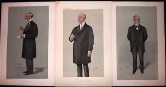 Vanity Fair Prints 1899-1903 Americans (3) Carnegie etc