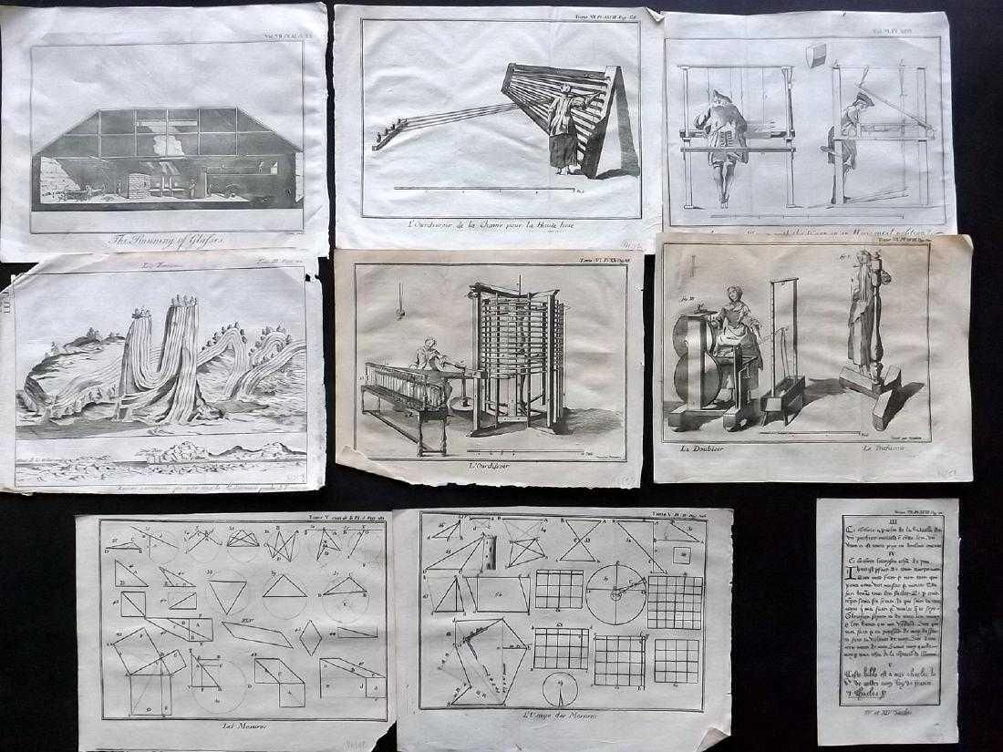 Pluche, Noel Antoine 1756 Lot 9 Science Prints