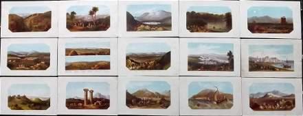 Thomson, William 1863 Lot of 15 Holy Land Prints