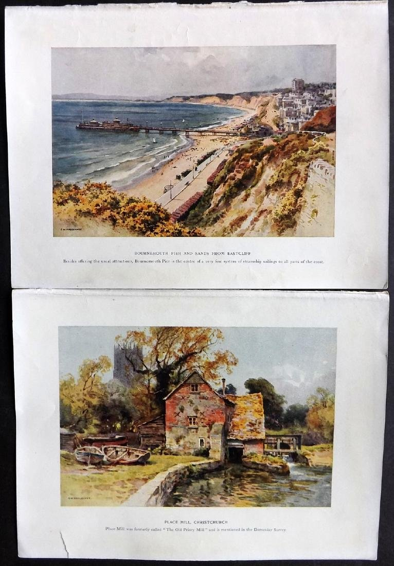 British Views C1930 Lot of 60 Colour Prints - 2