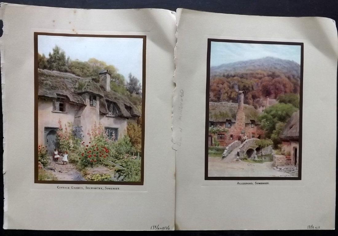 British Views C1930 Lot of 60 Colour Prints - 4