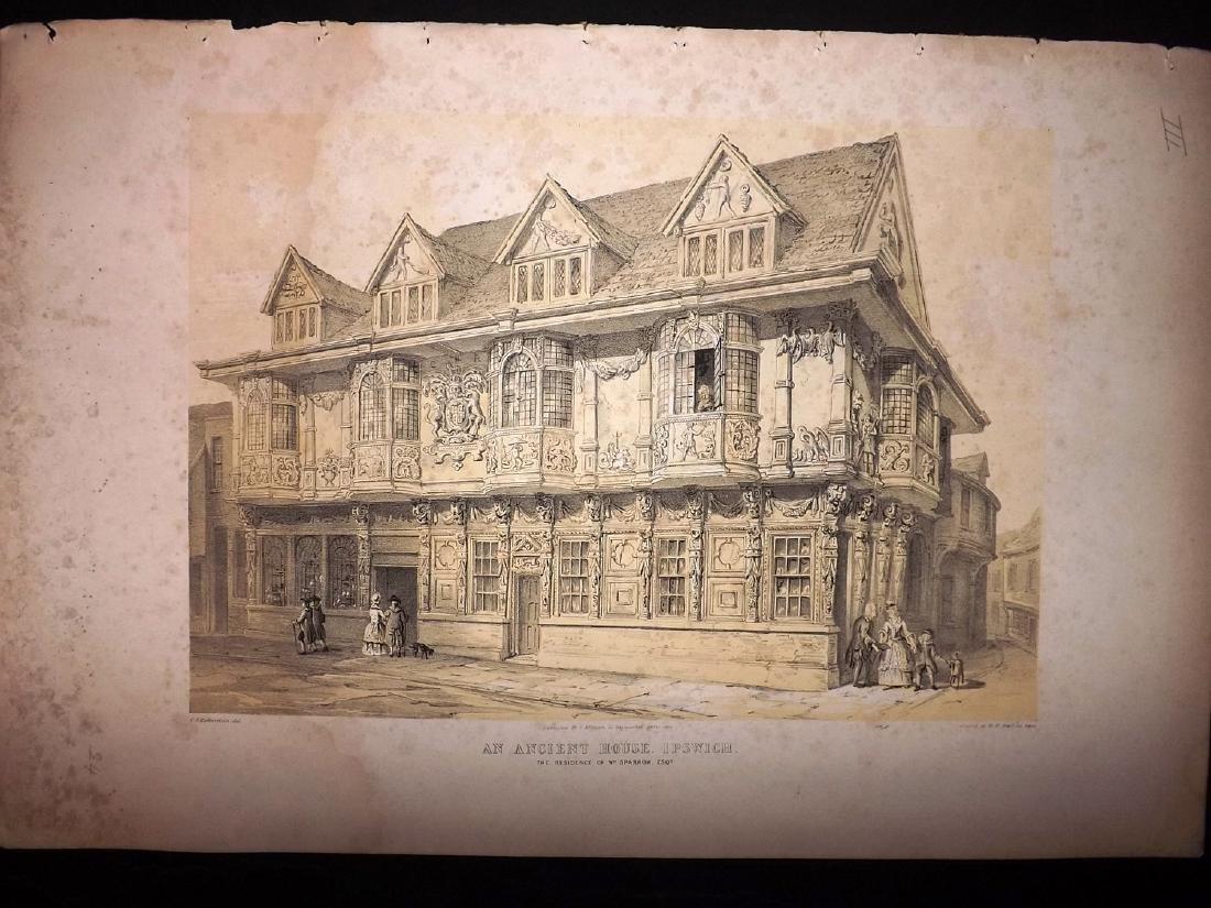 Richardson, Charles 1848 Lot of 5 Large Prints - 2