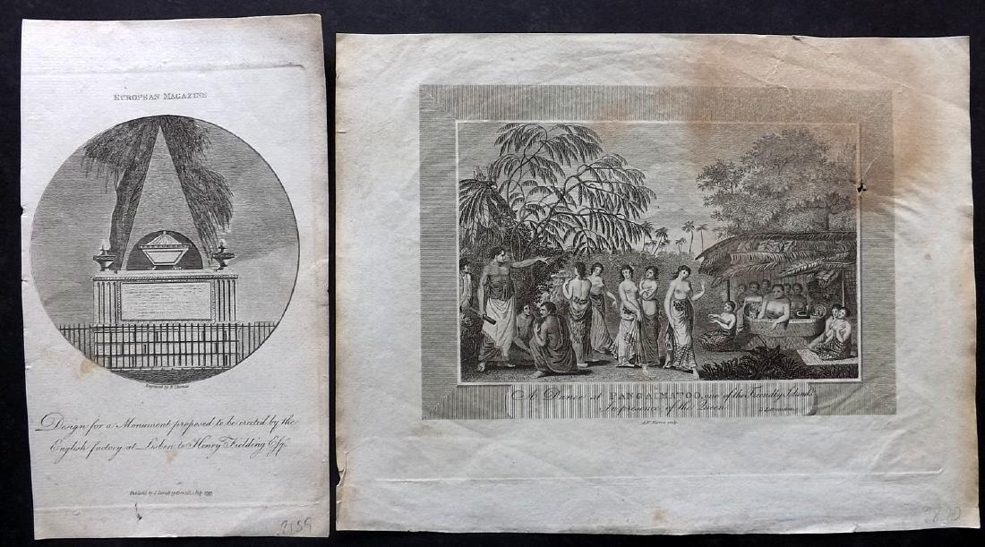 Travel 1793-1886 Mixed Lot of 10 Prints - 3