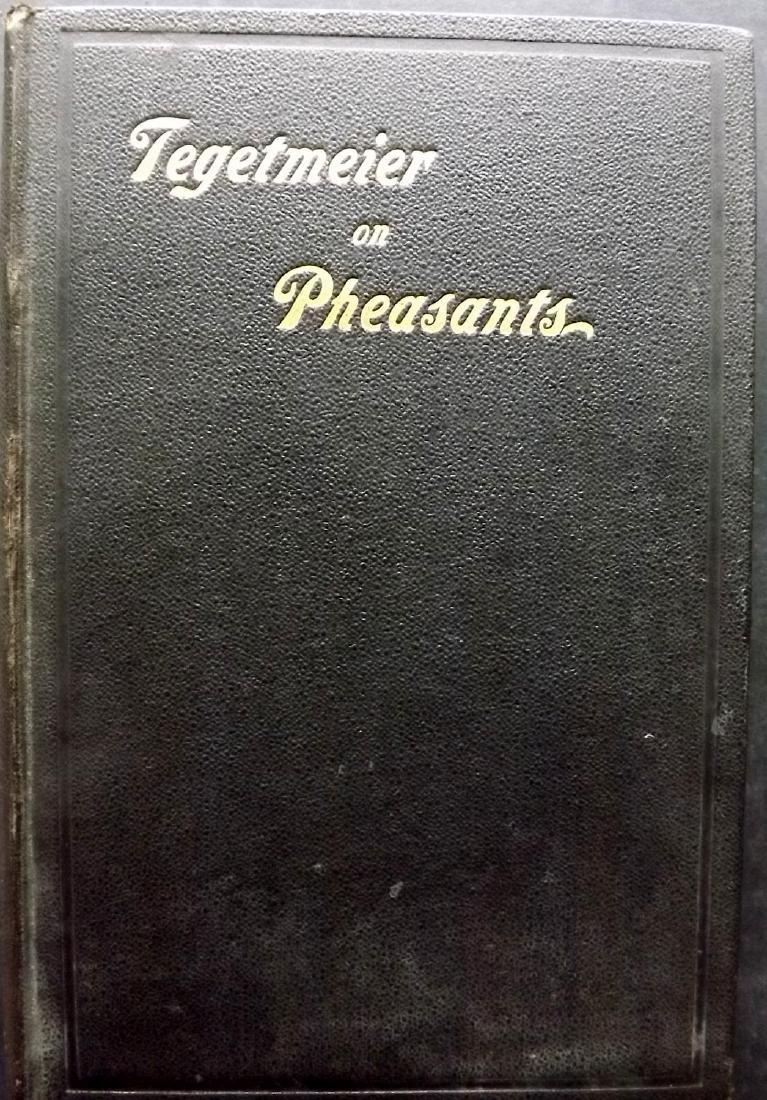 Book - Tegetmeier, W. B. - Pheasants, 16 Plates, 1897