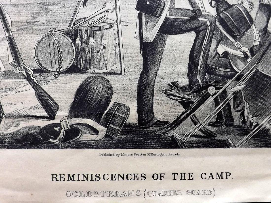 Alken, Henry 1853 Military Print. Coldstream Guards - 2