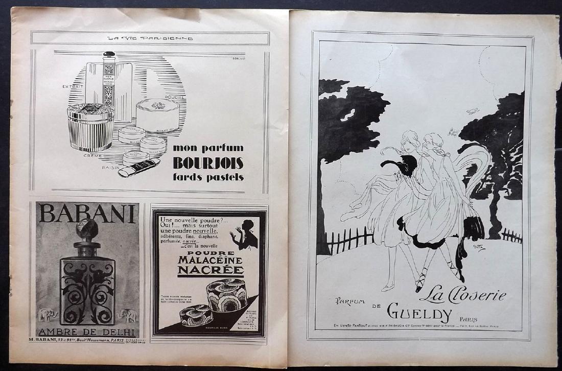 Art Deco Adverts 1920's Lot of 100. La Vie Parisienne - 2