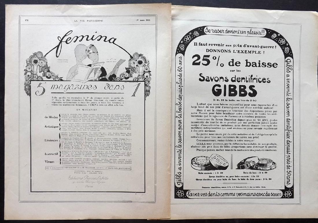Art Deco Adverts 1920's Lot of 100. La Vie Parisienne - 5
