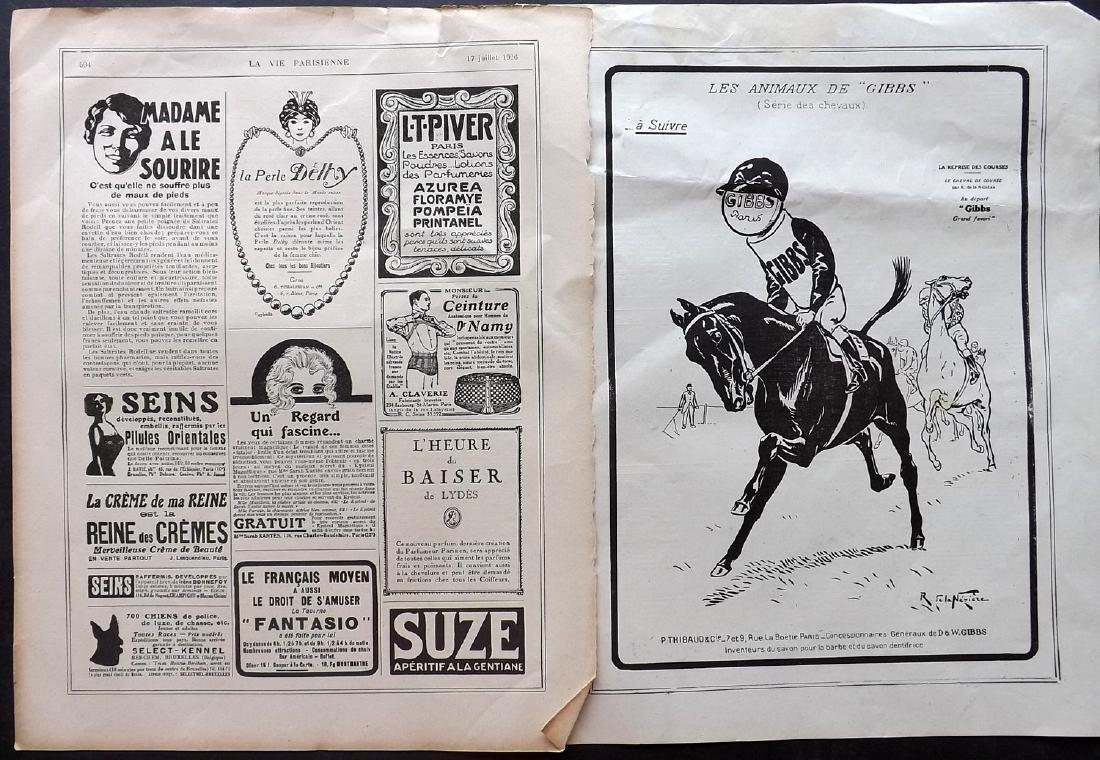 Art Deco Adverts 1920's Lot of 100. La Vie Parisienne - 6