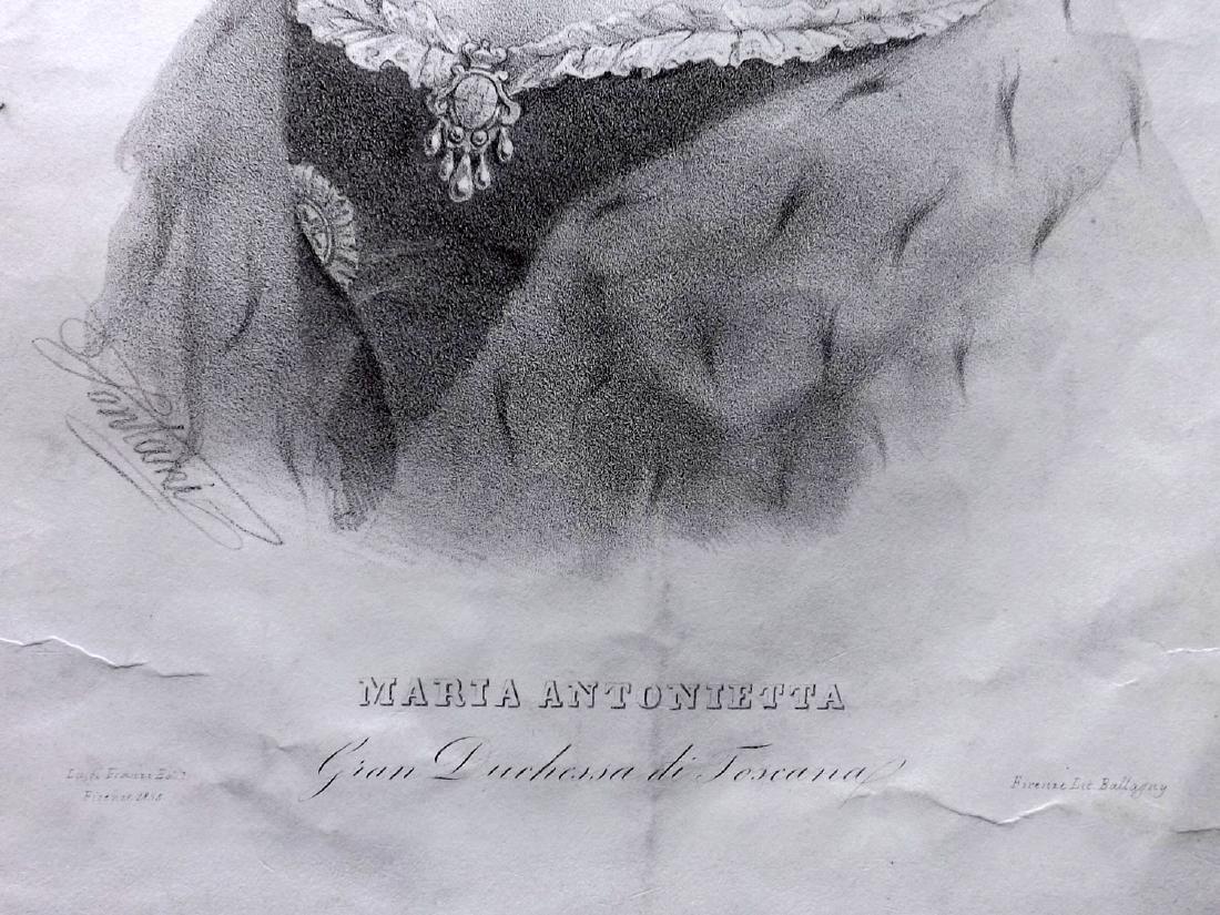 Ballagny 1855 Folio Portrait of Marie Antoinette - 2