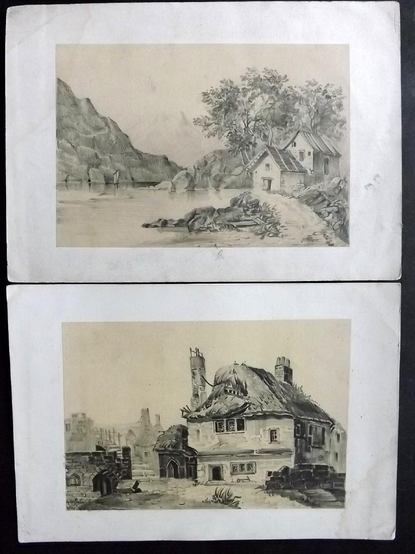 Mixed Prints 18th-19th Century Lot of 50 - 3