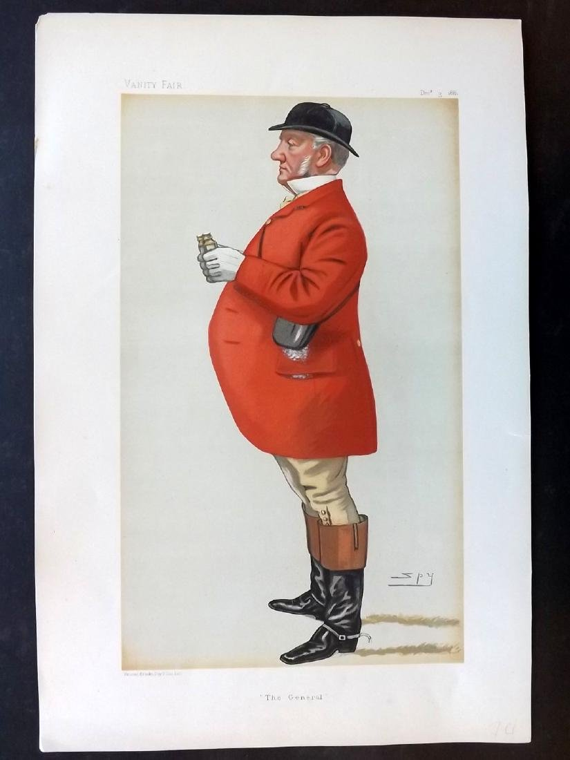 Vanity Fair Print 1881 M. Fenwick-Bissett, Fox Hunter
