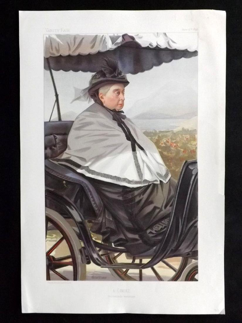 Vanity Fair Print 1897 Queen Victoria, Royal