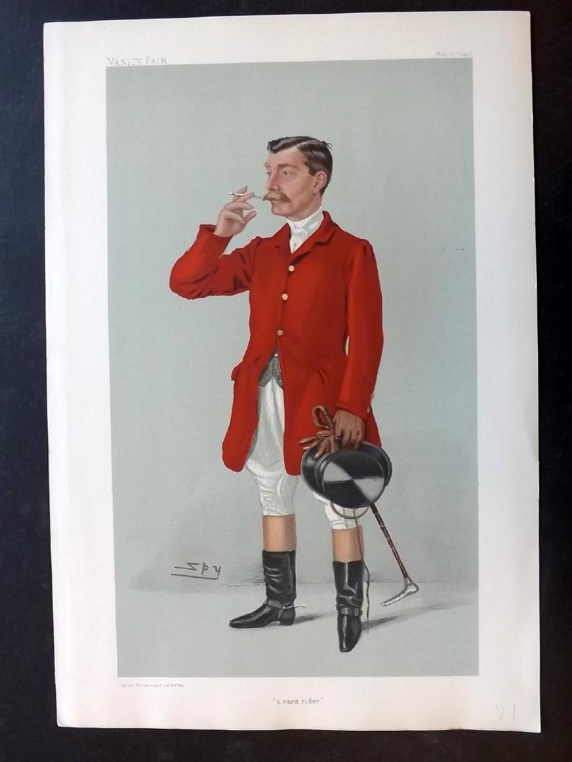 Vanity Fair Print 1904 Arthur James, Fox Hunter