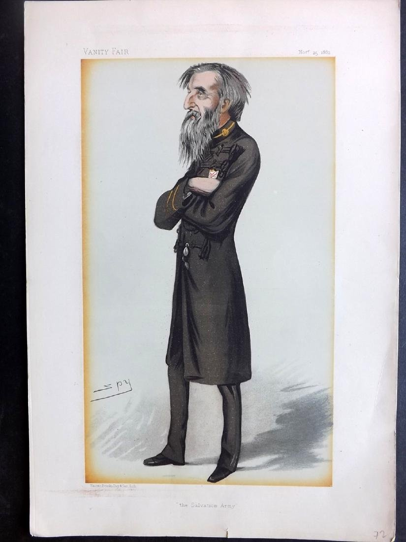 Vanity Fair Print 1882 William Booth, Salvation Army