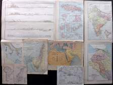 Maps 19th Century Mixed Lot of 10