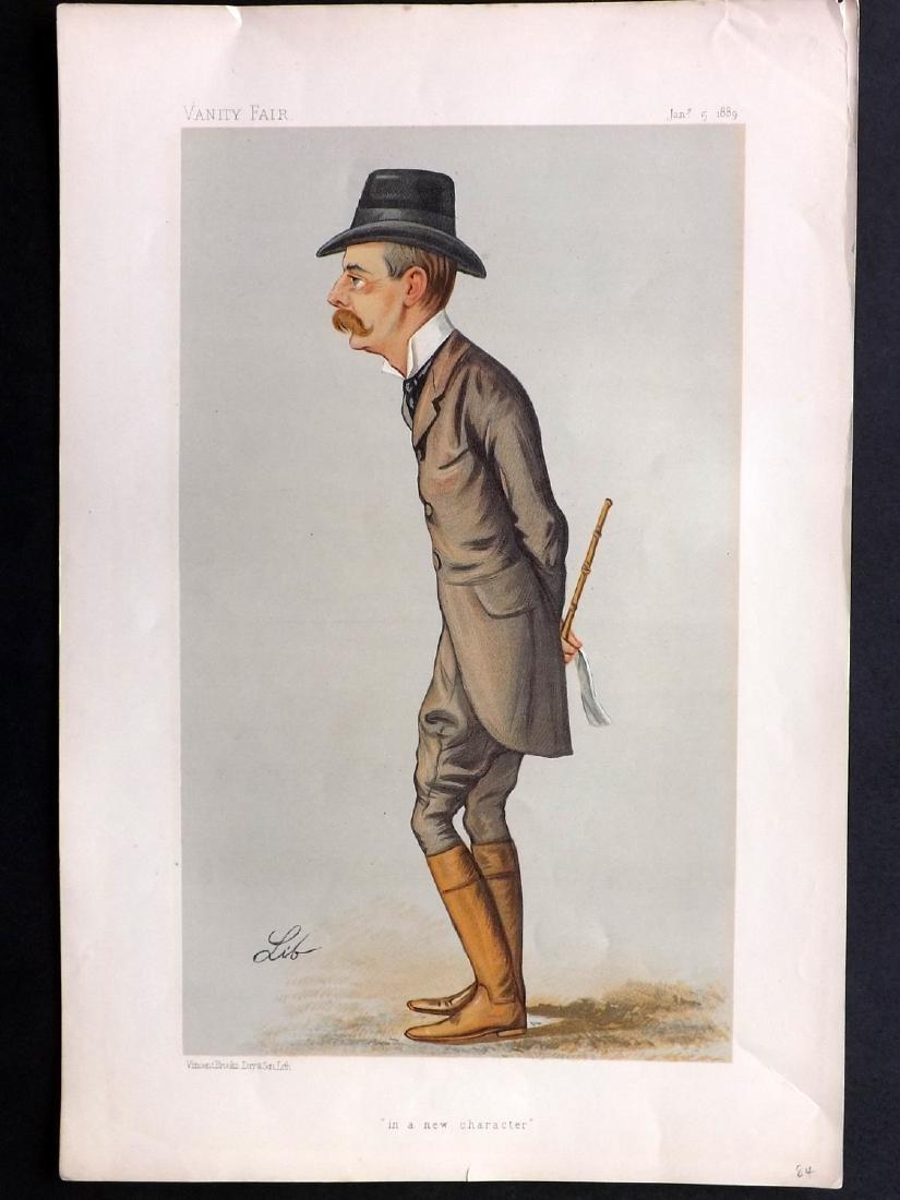 Vanity Fair Print 1889 Randolph Spencer Churchill