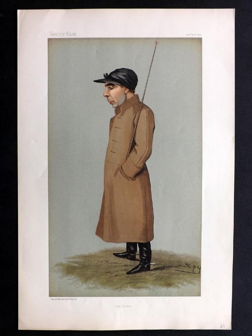 Vanity Fair Print 1896 Sam Loates, Jockey
